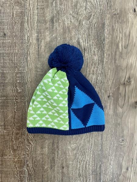 Fischer Hat - Bormio - black/navy blue/green