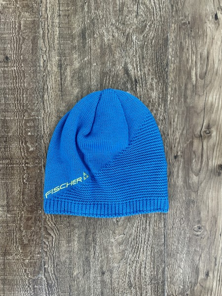 Fischer Beanie Long - Megeve - blue