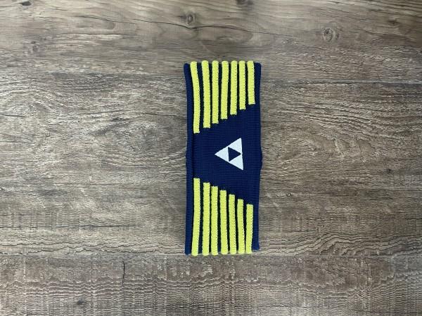 Fischer Headband Vang - navy/yellow - S/M