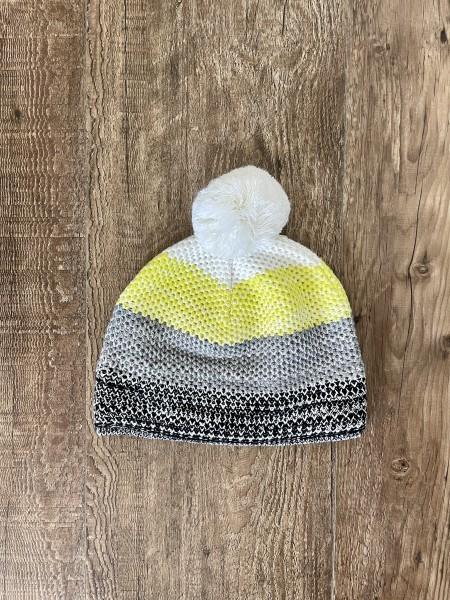 Fischer Hat Garmisch - white/yellow/grey