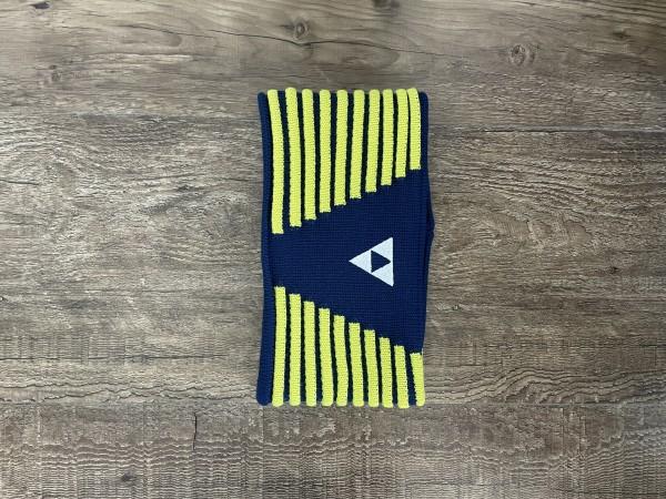 Fischer Headband Vang - navy/yellow - L/XL