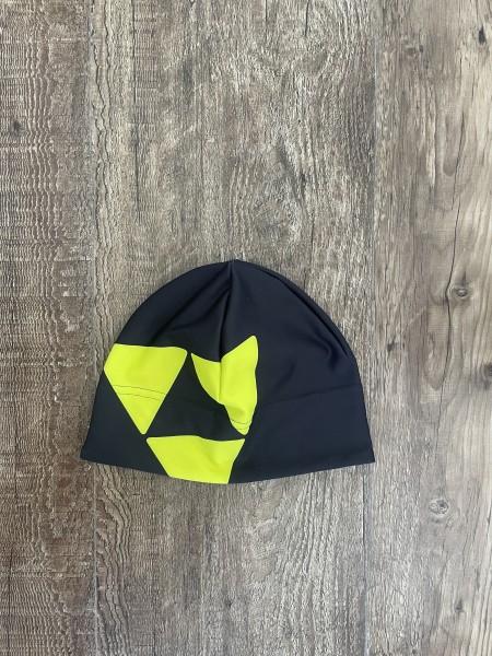 Fischer Beanie Warm - Größe: L/XL - black/lemon