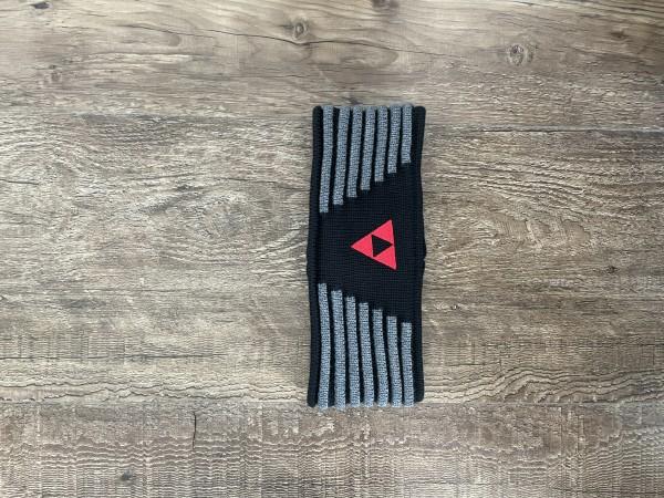 Fischer Headband Vang - black/anthrazit/red - S/M