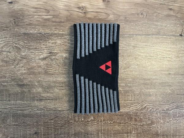 Fischer Headband Vang - black/anthrazit/red - L/XL