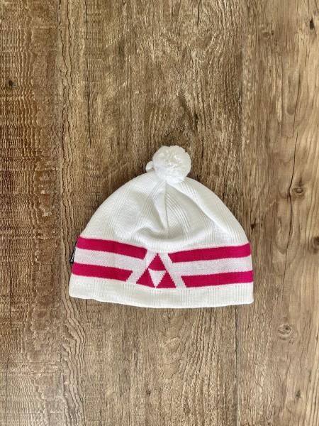 Fischer Beanie - Polar - white/pink