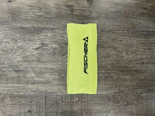 Fischer Headband Logo - yellow - one size
