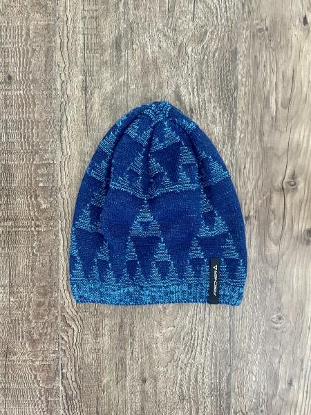 Fischer Beanie Long - Wagrain - navy blue/royal blue
