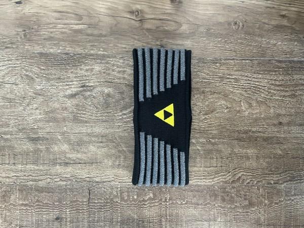Fischer Headband Vang - black/anthrazit/yellow - S/M