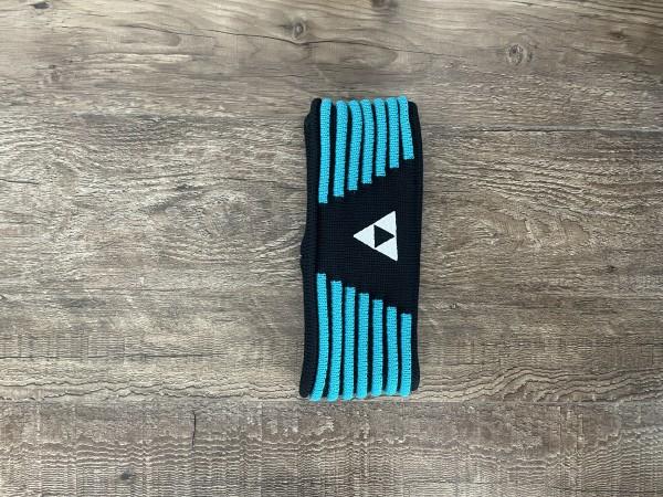Fischer Headband Vang - black/adria blue - S/M